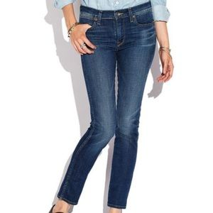 Lucky Brand Charlotte Rail Distressed Skinny Jeans